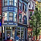 Jim Thorpe PA - Window Shopping by Susan Savad