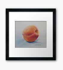 Juicy Peach Framed Print