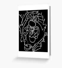 Rayman White Greeting Card