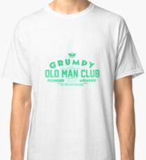 Grumpy Old Man Club Art Design Classic T-Shirt