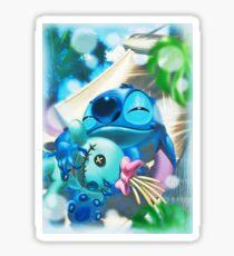 Happy stitch Sticker