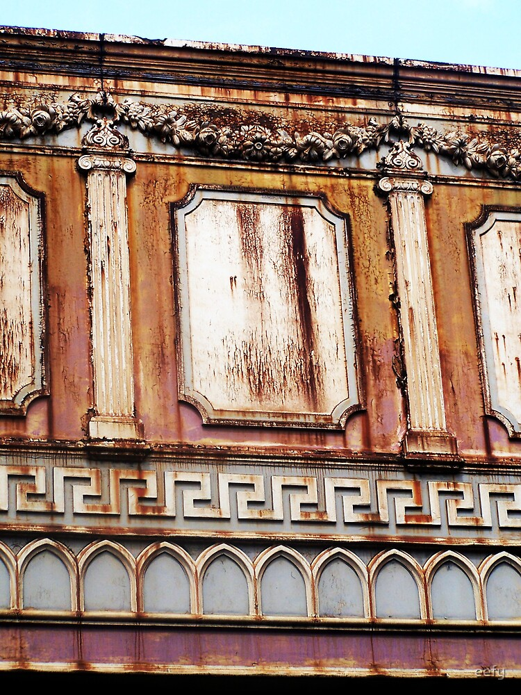 Old Parapet by eefy