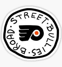 broad street bullies Sticker