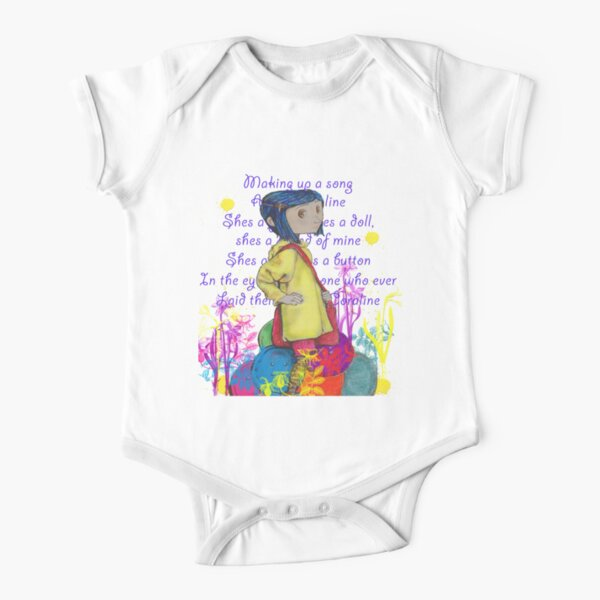 Song About Coraline Short Sleeve Baby One-Piece
