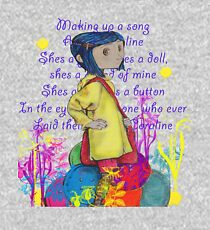 Song About Coraline Kids Pullover Hoodie