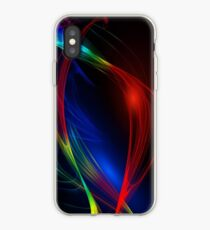 Abstract and Colorful Waves Phone Case Skin iPhone Case