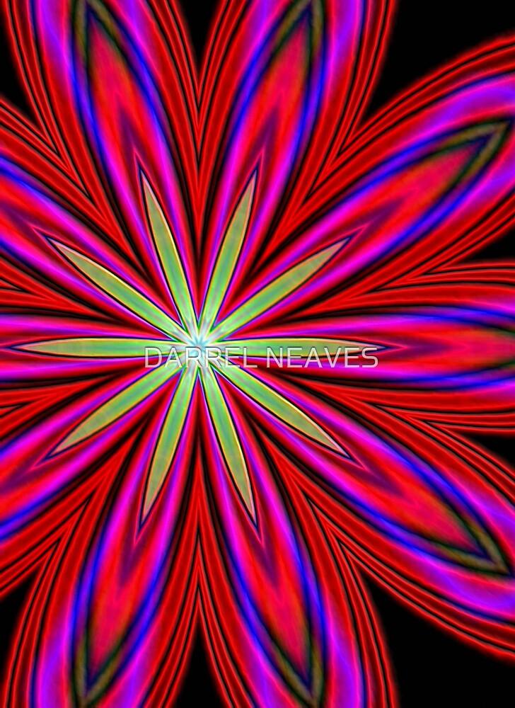 green flower by DARREL NEAVES