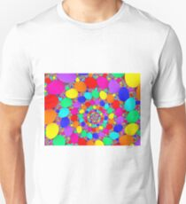 Spiraling Colorful Jelly Beans  T-Shirt