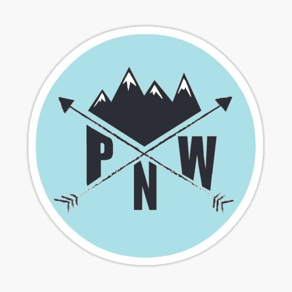 PNW (blue) Sticker