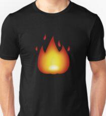 Fire Emoji Unisex T-Shirt