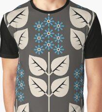 Herbaceous Blue Graphic T-Shirt