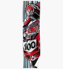 Neil Hodgson - Fila Ducati Poster