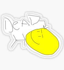 Dead Guy Transparent Sticker