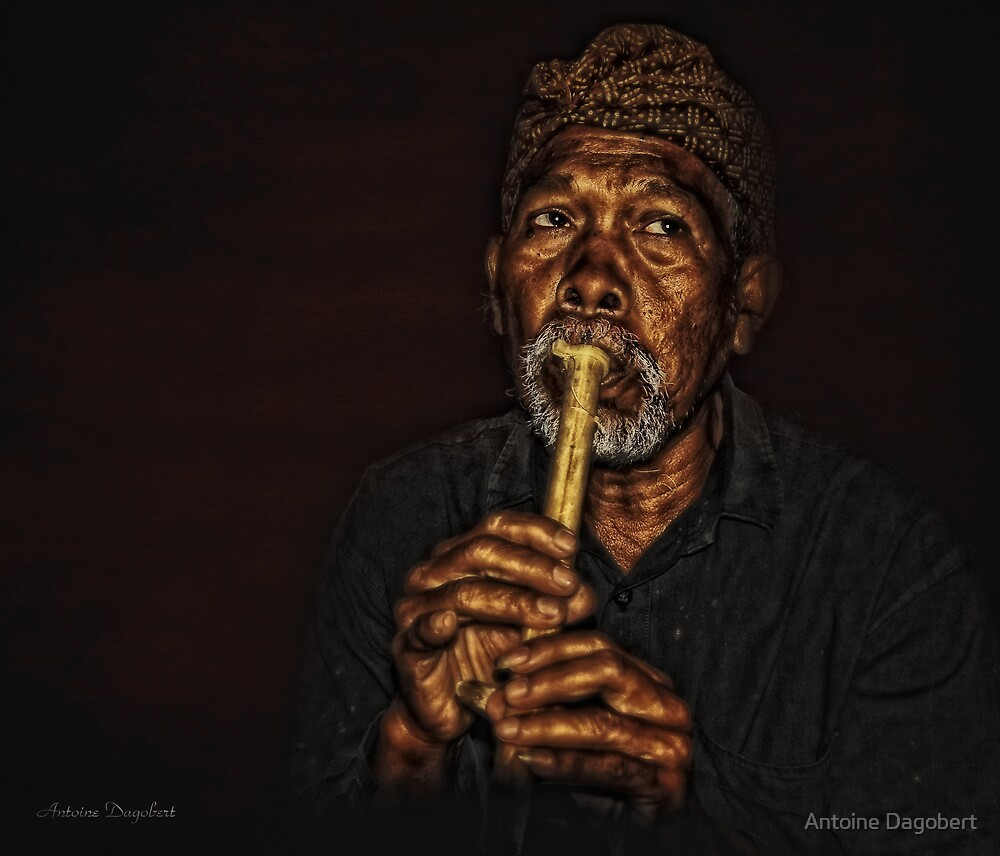 The Balinese Musician by Antoine Dagobert