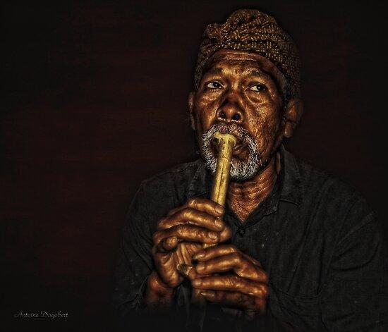 The Balinese Musician by Antoine Dagobert