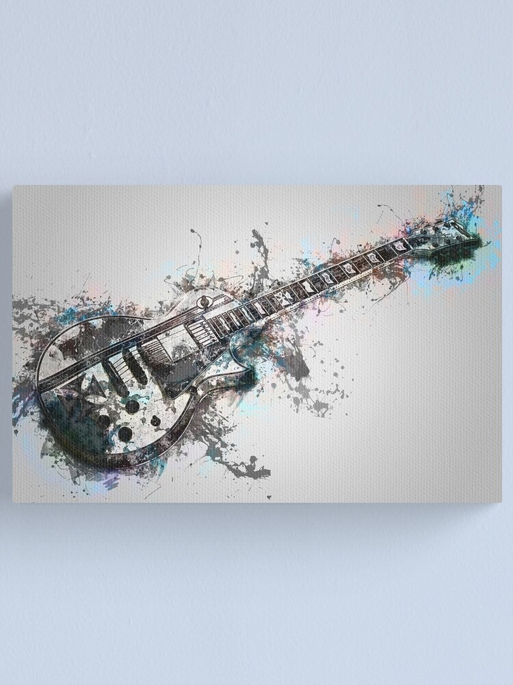 Alternate view of Electric Guitar Canvas Print