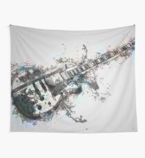 Electric Guitar Wall Tapestry