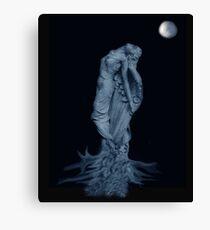 Moon Gazer Canvas Print