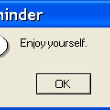 Reminder by jen701