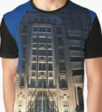 City Hotel At Night Graphic T-Shirt