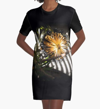 Banksia Still Life Graphic T-Shirt Dress