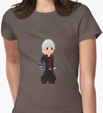Pixel Nero Women's Fitted T-Shirt