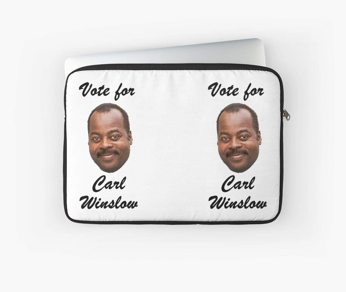 Vote for Carl Winslow 1 by Noveltee  Shirts