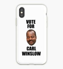 Vote for Carl Winslow 2 iPhone Case