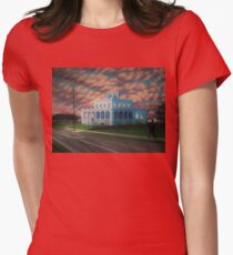 The Wedding Cake House Womens Fitted T-Shirt