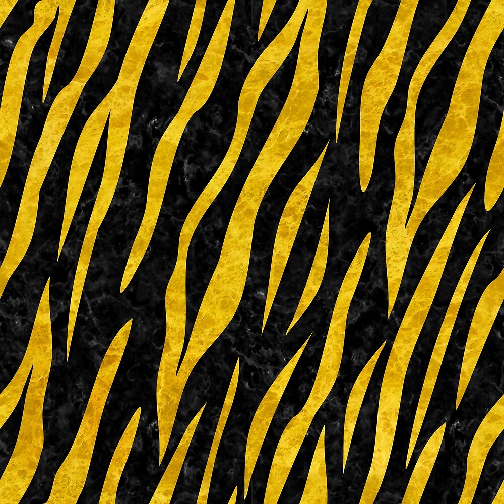 SKIN3 BLACK MARBLE AND YELLOW MARBLE by johnhunternance