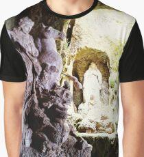 Madonna Piedigrotta Church Graphic T-Shirt