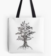 Tree sketch  Tote Bag