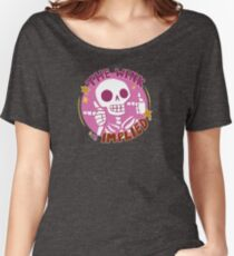 Skele-fun: The Wink is Implied Women's Relaxed Fit T-Shirt