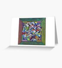 ( C ) Personalized Coolest Sticker MashUp Greeting Card