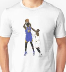 Kevin Durant Clutch Shot Over LeBron James T-Shirt