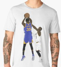 Kevin Durant Clutch Shot Over LeBron James Men's Premium T-Shirt