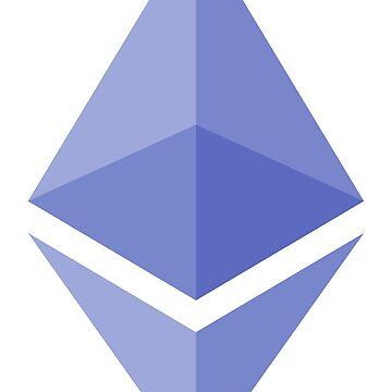 Ethereum Logo - ETC Crypto Ether Fuel by misdememeor
