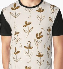 Floral Pattern Graphic T-Shirt