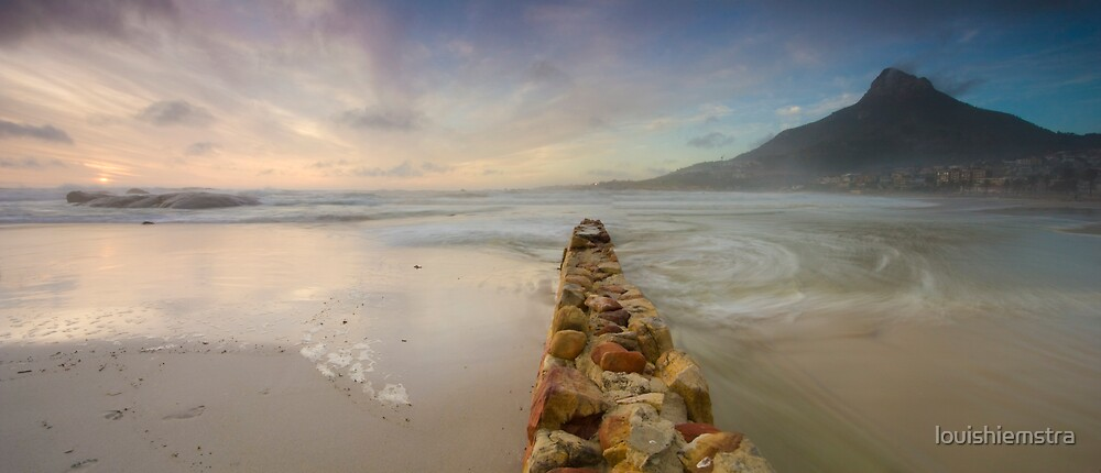 Camps Bay panorama by louishiemstra