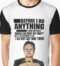 The Office - Dwight K. Schrute Graphic T-Shirt