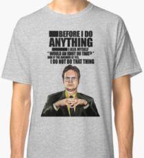 The Office - Dwight K. Schrute Classic T-Shirt