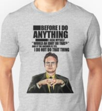 The Office - Dwight K. Schrute Unisex T-Shirt