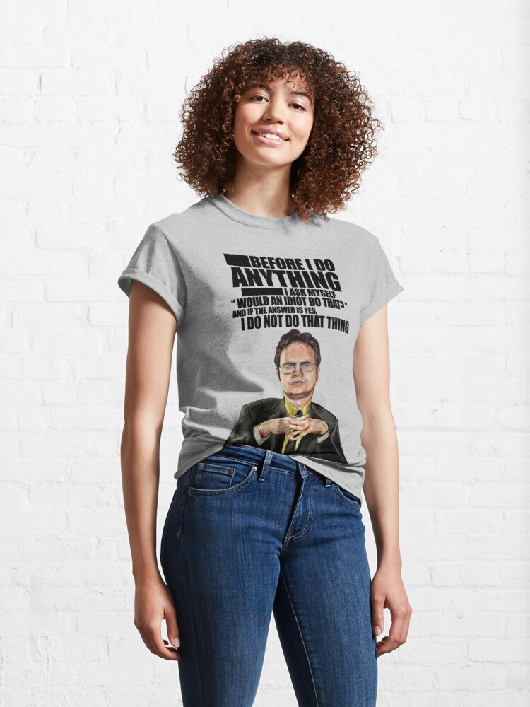 Alternate view of The Office - Dwight K. Schrute Classic T-Shirt