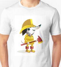 dalmatian dog fireguard T-Shirt