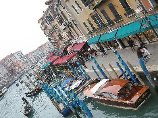 view from the Rialto bridge, Venice by chord0