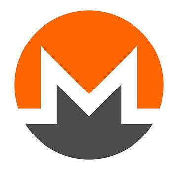 Monero Logo - XMR Crypto Currency by misdememeor