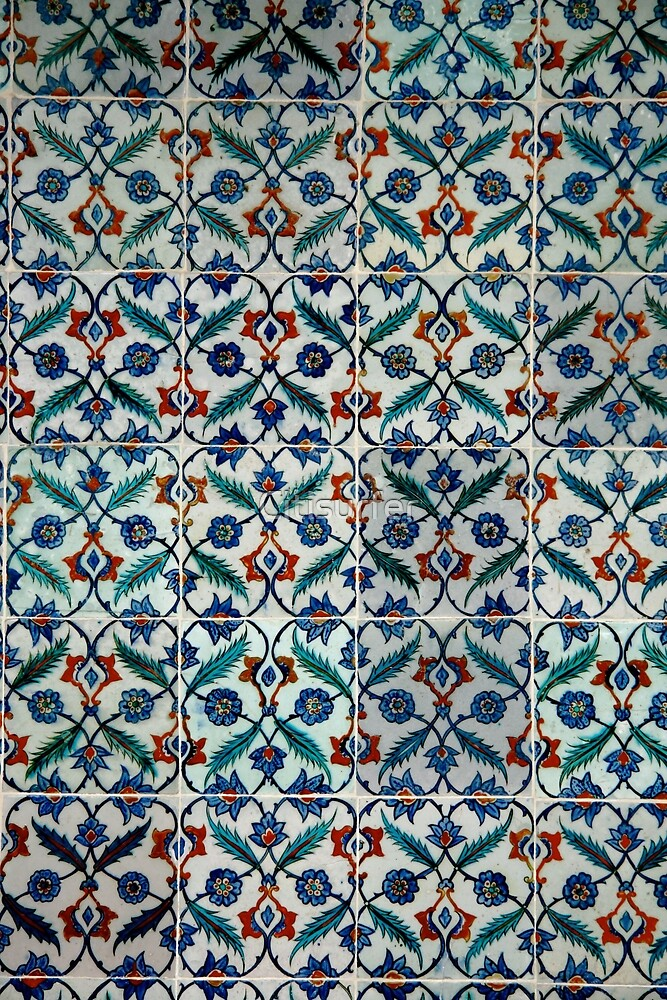 Tiles from Syria by Citisurfer