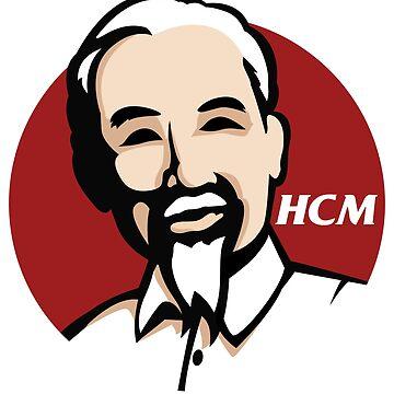 Ho Chi Minh by unluckydevil