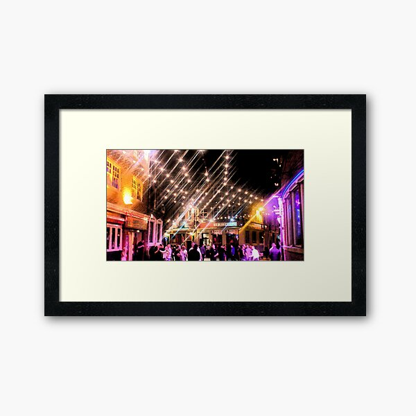 Mathew Street Framed Art Print