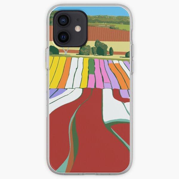A quilt for the Landscape (detail) iPhone Soft Case